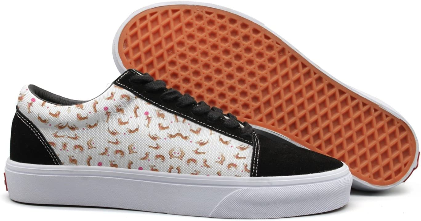 seventtynine Play Dogs Women Casual Sneaker Lace Up Shoe