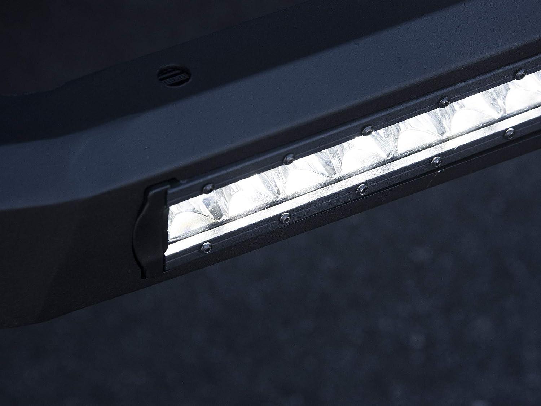 Armordillo USA 7176768 AR Series Bull Bar W//LED Fits 2007-2018 GMC Sierra 1500 Matte Black