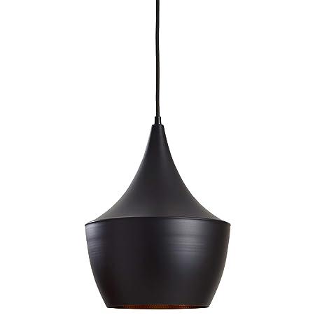 Rivet Industrial Pendant Light with Bulb, 63 H, Black