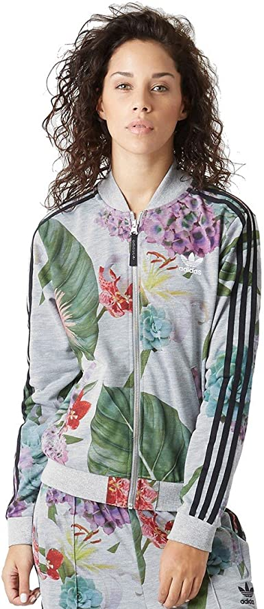 adidas - Chaqueta Training Train Floral TT para Mujer
