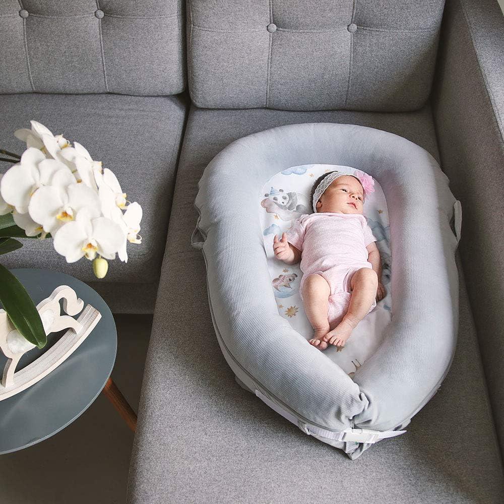 Lulando Lulando baby-nest velvet de la serie art collection 1 Unidad 1540 g