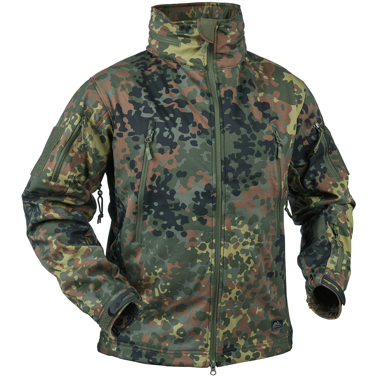 Helikon Gunfighter Soft Shell Jacke Flecktarn