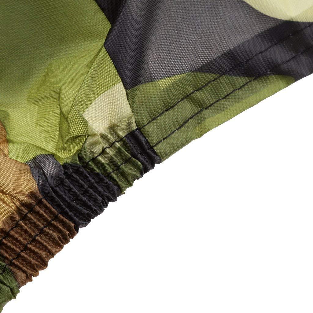 SHDlYE ATV Abdeckplane Fahrzeug Abdeckung Abdeckplane Abdeckhaube 190T Polyester Winterfest Staub Regen UV-Schutz mit Universal,M