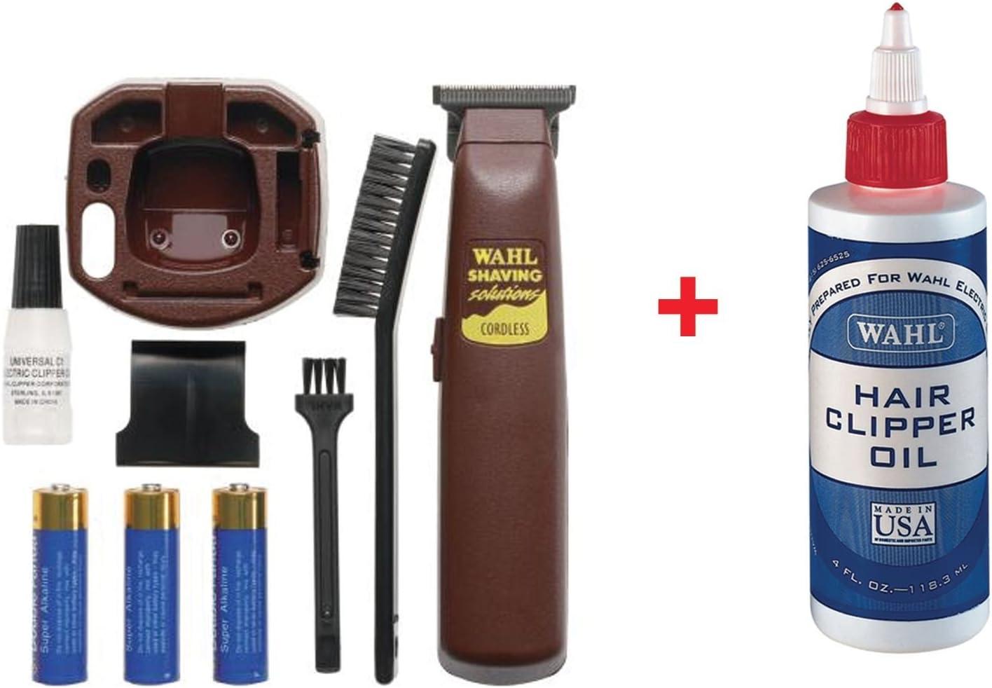Wahl 9945 – 801 Was a Shaver batería de pelo trimmer afeitadora con extra libre elección 3310 Lubricante: Amazon.es: Salud y cuidado personal
