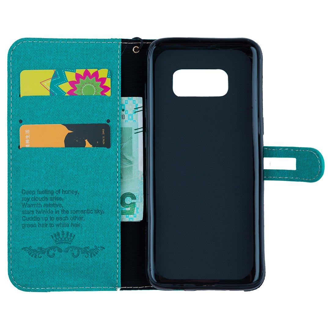 IKASEFU - Funda para Samsung Galaxy S8, diseño de corbata de ...