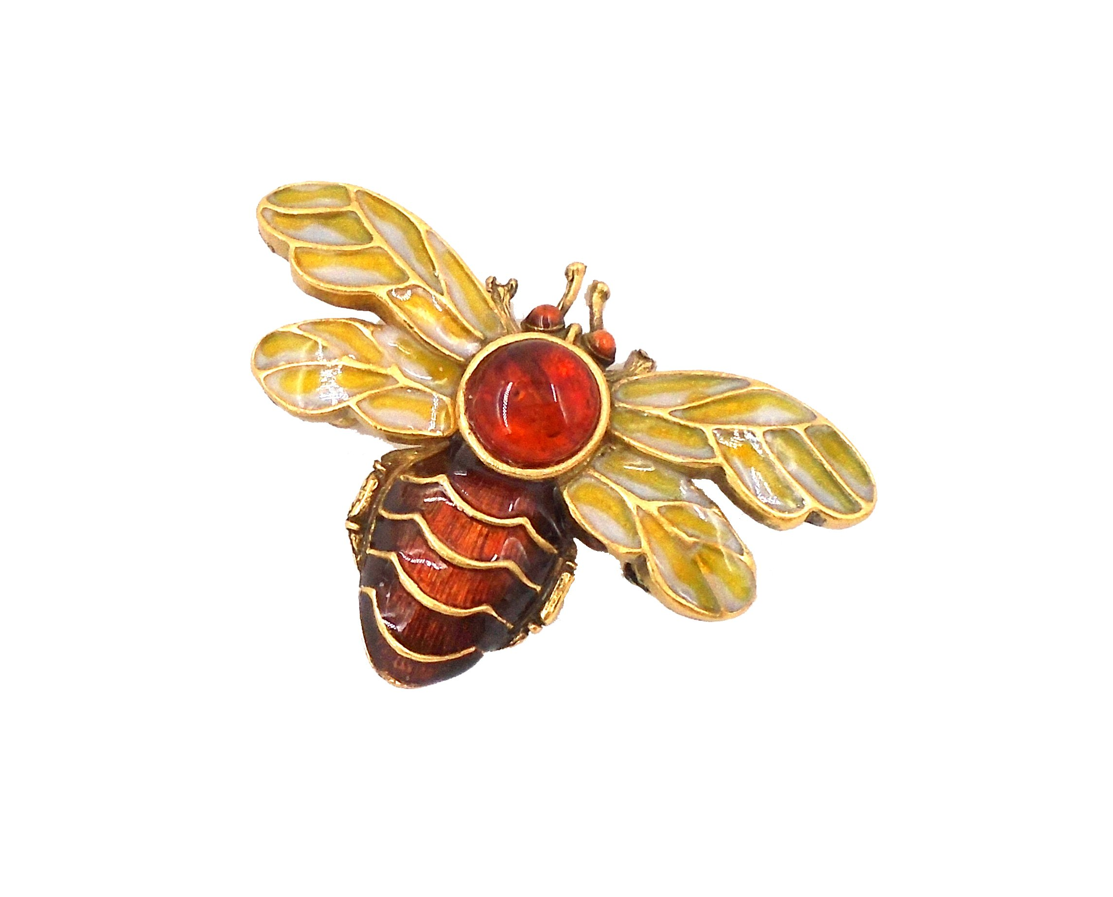 ''Napoleanic Bee'' Hand-Enameled Pin/Brooch by Heritage Museum Jewelry Replicas…