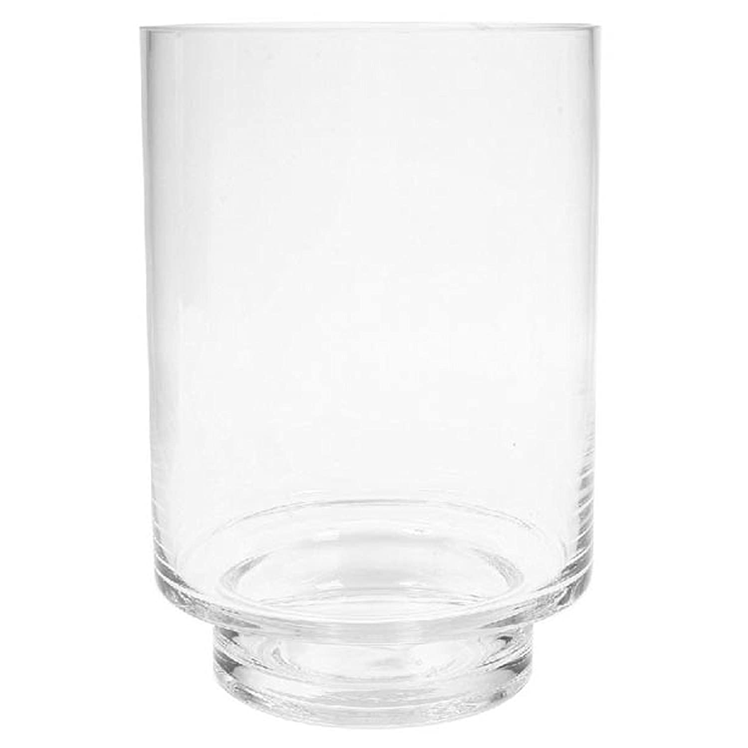 Hosley's 7.5 High, Glass Pillar/Votive Candle Holder. Ideal Gift for Weddings, House Warming, Home Office, Spa, Votive/Pillar Candle Garden. P1 Hosley' s 7.5 High HG Global