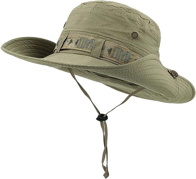 Sombrero Lethmik Para Protección Solar Para Pesca Gorra Con Protección Uv Para El Verano Sombrero Para Cazar Y Acampar Clothing