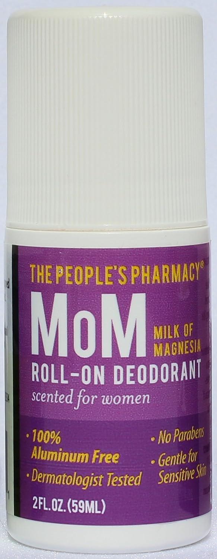 Amazon.com: Womens MoM (Milk of Magnesia) Aluminum-free Roll-on Deodorant: Health & Personal Care