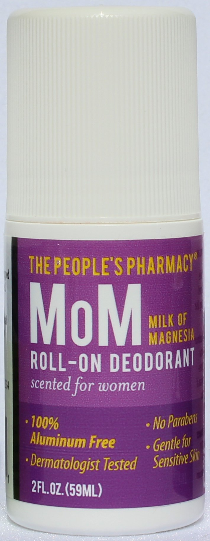 Womens MoM (Milk of Magnesia) Aluminum-free Roll-on Deodorant