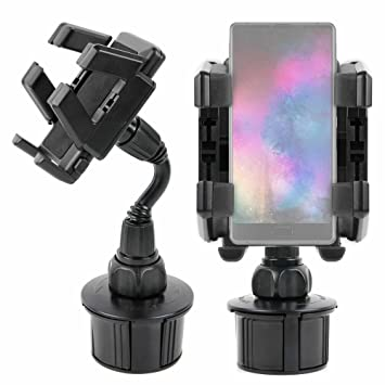 DURAGADGET Soporte Giratorio para Posavasos del Coche para Smartphone Maze Alpha X- ¡Siempre A