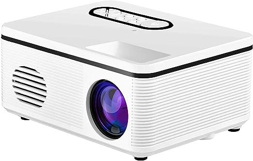 Qucking Light Mini Proyector, Proyector De Video Inicio Mini ...