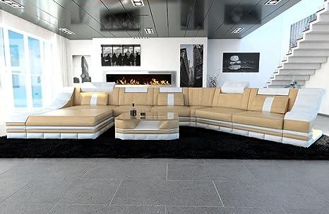 Xxl interni casa turino cl formina bianco sabbia beige divano divano