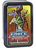 Star Wars Clone Wars - Topps - Force Attax Trading Card Game in Collectors Tin Series 4