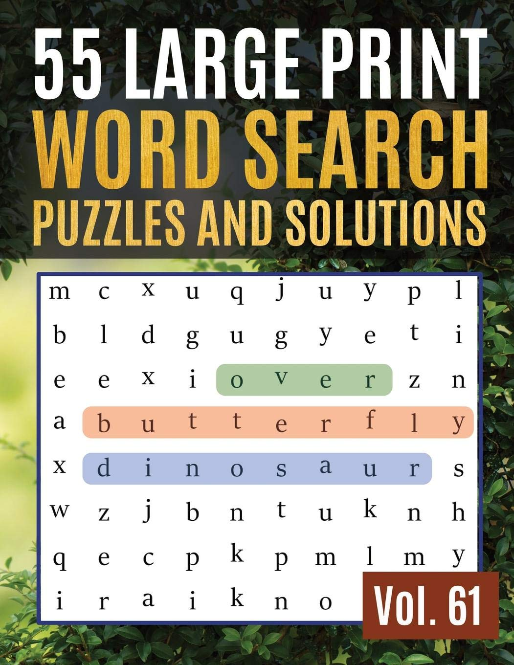 picture relating to Large Print Word Search Printable referred to as 55 Major Print Term Look Puzzles and Companies: Term