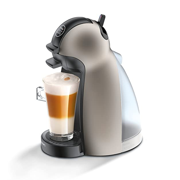 Kaffeepadmaschinen  Krups KP 1009 Nescafé Dolce Gusto Piccolo Titanium: Amazon.co.uk ...