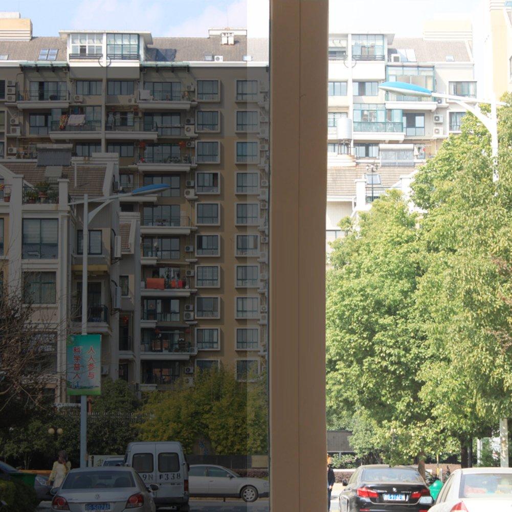 YQ WHJB Self adhesive Window films,Anti-uv Sun protection film,Sun control solar window films Heat rejection control Office Balcony Window decal-A 70x100cm(28x39inch)