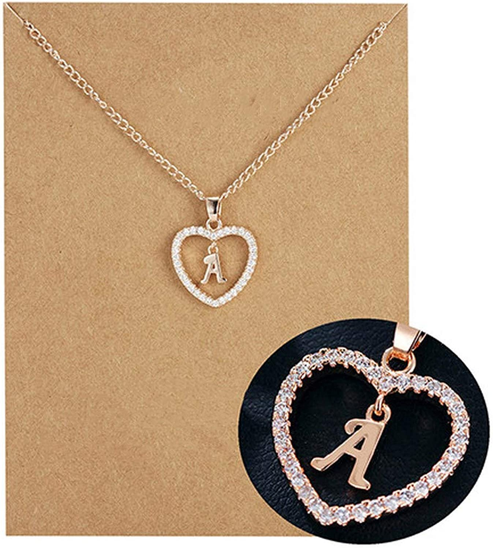 CS-DB Silver Trendy Rhodium PlatedPendants Necklaces For Womens