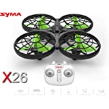 Toyhouse SYMA X26 Automatic Obstacle Avoidance RC Drone - Black