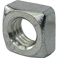 AERZETIX - 20 stuks Vierkante moer - M8 - Verzinkt staal - DIN 557 - C45451