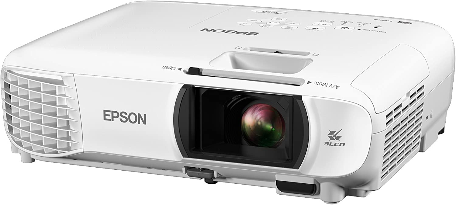 Epson Home Cinema 1060 Full HD 1080p 3,100 lumens color brightness (color light output) 3,100 lumens white brightness (white light output) 2x HDMI (1x ...