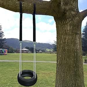 BlackRomance Árbol Swing percha Holds 3300lbs, con 2 correas de ...