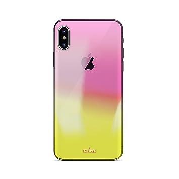 coque iphone x orange apple