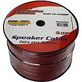 Nippon ISSP141000BR Pipeman's 14 Gauge Speaker Cable, 1000Ft, Black/Red jacket
