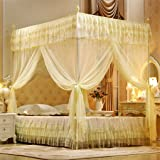 Malizia val lmb0538 letto matrimoniale completo di baldacchino in ferro battuto colore - Letto a baldacchino ikea ...