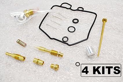 Amazon com: 4x Honda 80-83 GL1100 Goldwing Carburetor Carb Rebuild
