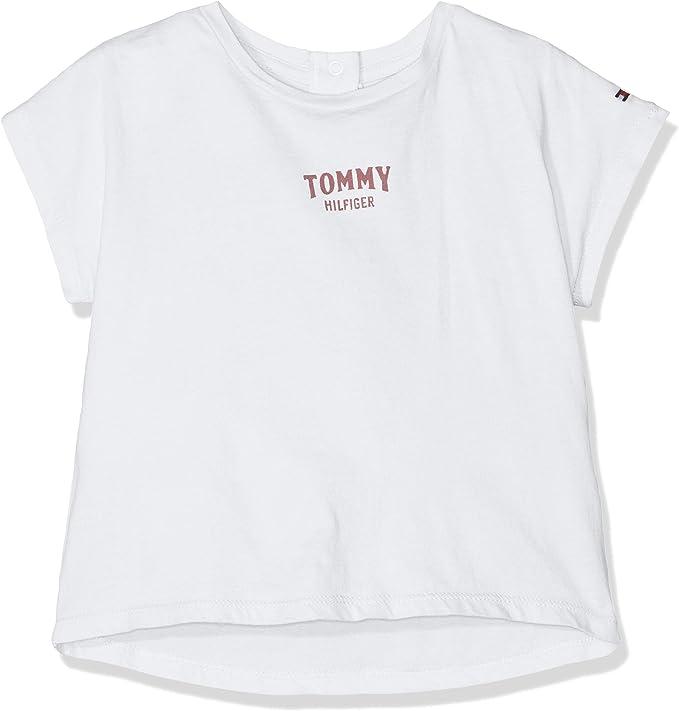 Tommy Hilfiger Baby Flamingo tee S//S Camiseta para Beb/és