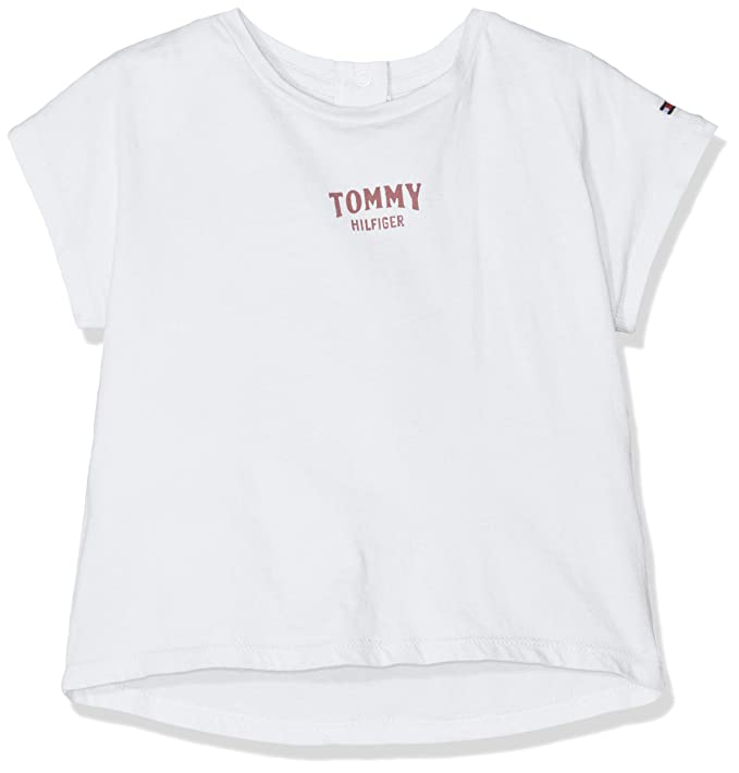 Tommy Hilfiger Bold Text Grown On S//S tee Camiseta para Beb/és