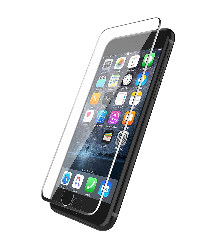 Phone Star iPhone 7 Plus Screen Protector [3D Touch] 0, 2 mm Ballistic Glass iPhone 6 avec verre de protection iPhone 6 avec é tui de protection en verre ou Bumper [tumundosmartphone Film] iPhone 7 Plus [FULL COVER] Panzergla