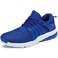 Shoe Fab Men Casual Sports Shoes AIR Trainers/Gym Running Athletic Competition Sneakers Grey