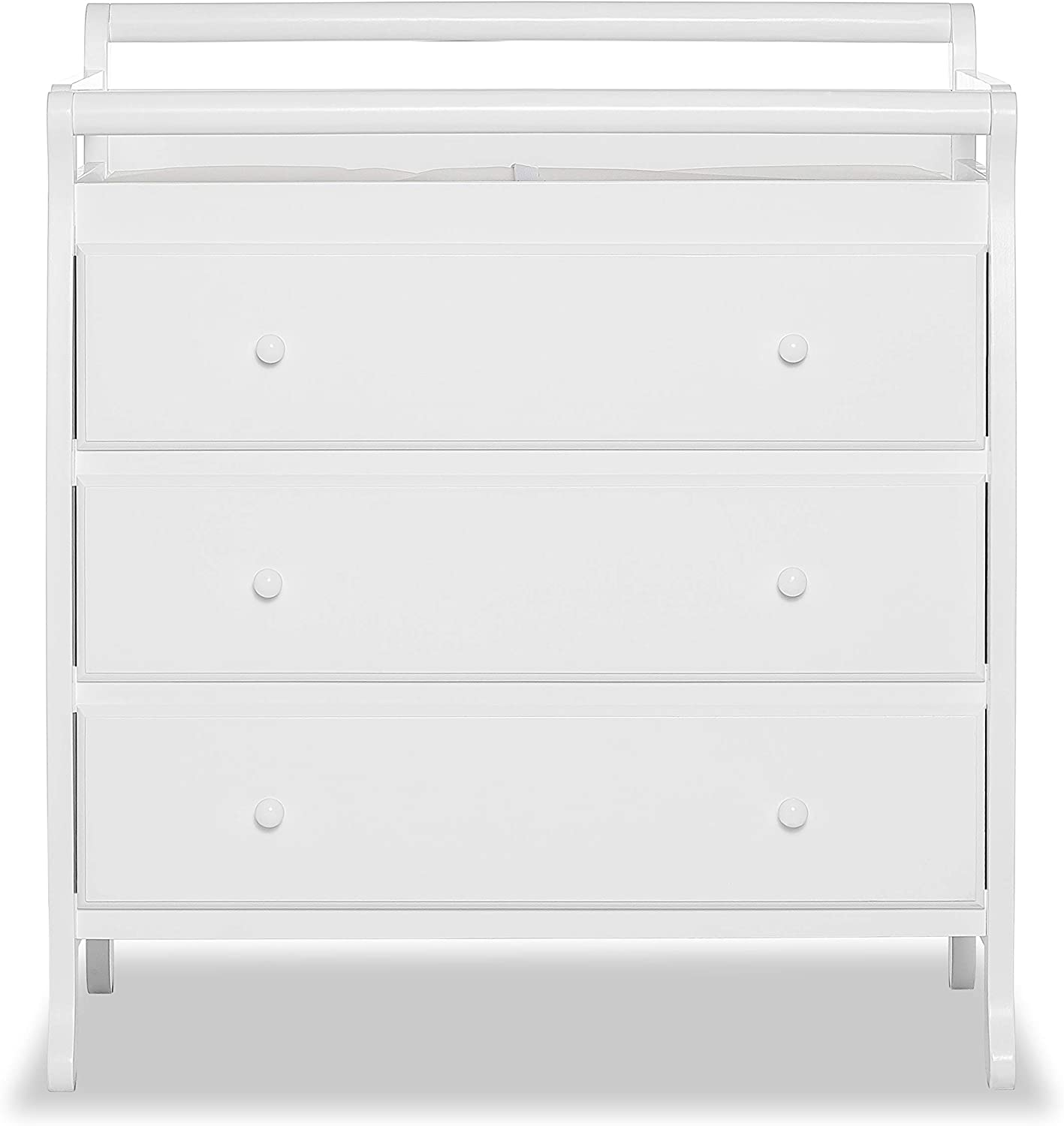 Natural Dream On Me Liberty Collection 3 Drawer Changing Table