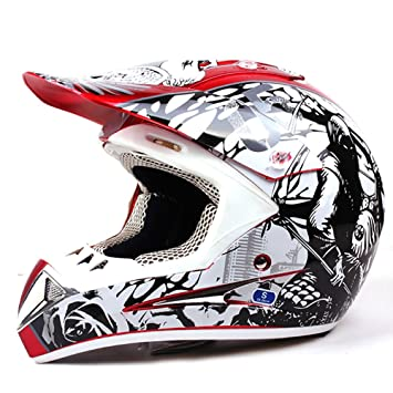 DUEBEL Bull Fight Cascos Integrales BMX / MTV / Cross Country, Cascos de Motocross (