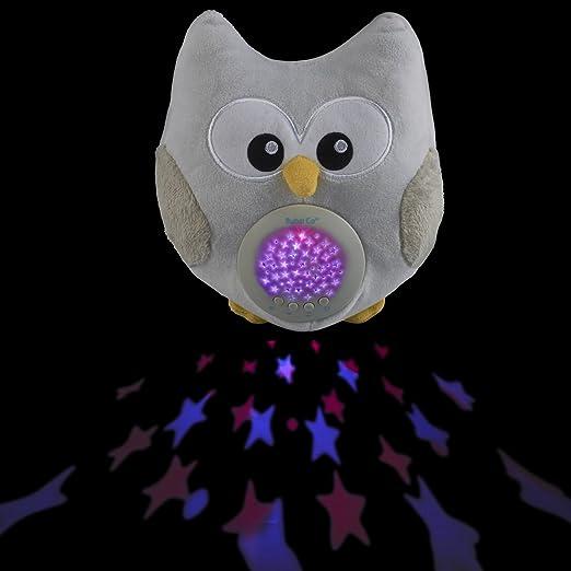 Bubzi Co Baby & Toddler White Noise Sound Machine Sleep Aid Night Light