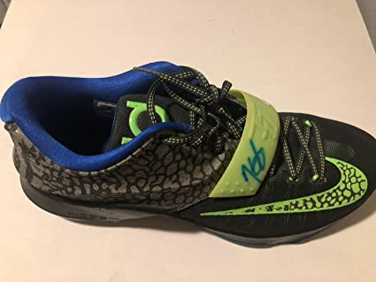a5cdad1557d8 Kevin Durant Autographed Signed Auto Hand Autographed Signed Kd 7 Nikes  Warriors PSA DNA