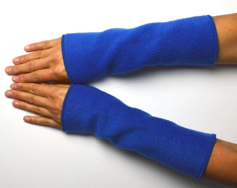 Armstulpen Handstulpen Stulpen Pulswä rmer Blau