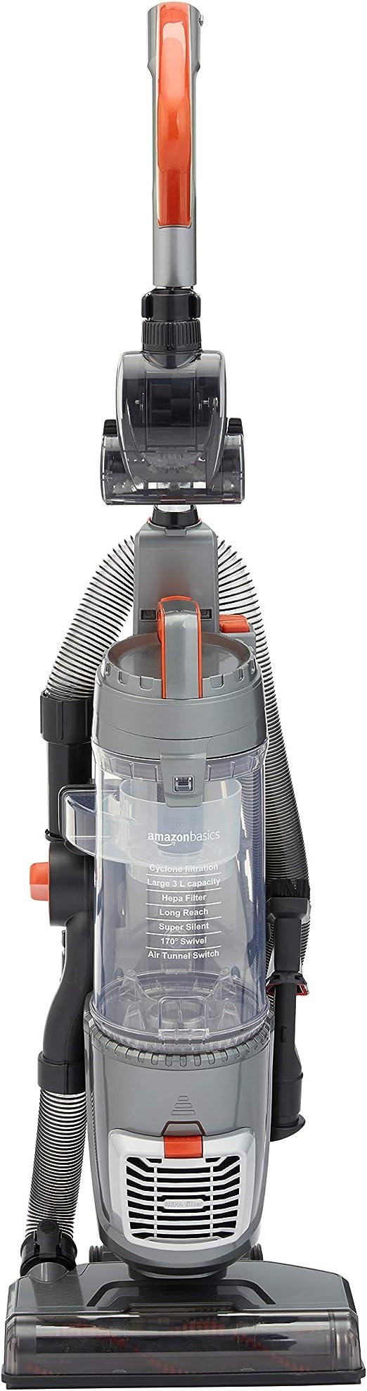 AmazonBasics - Aspiradora vertical con motor de alta eficiencia ...