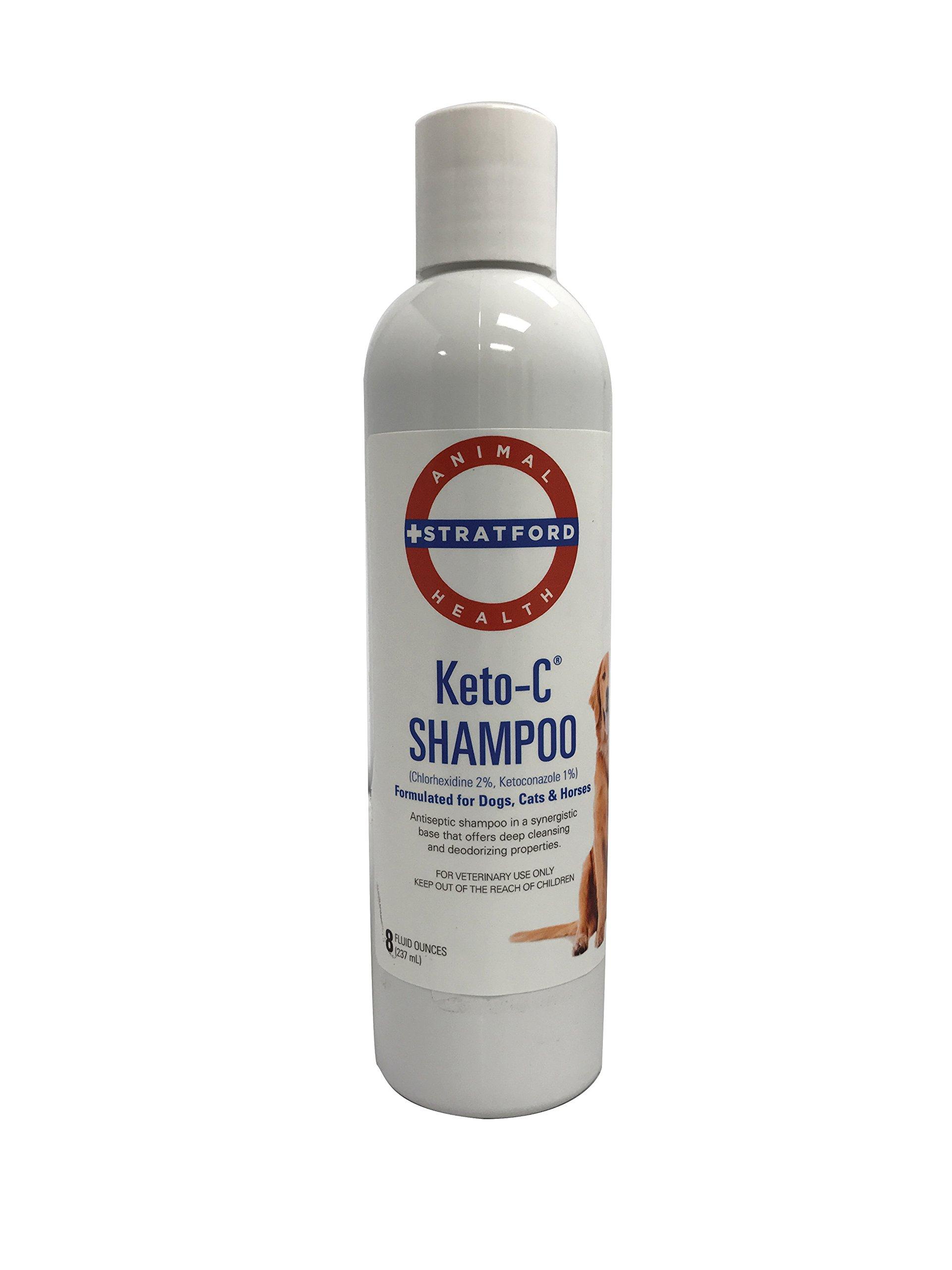 Stratford Pharmaceuticals Keto-C Medicated Dog Shampoo, 8 oz - Cucumber Melon