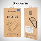 for OnePlus One KAPAVER® 2.5D Curved Edge 9H Hardness Premium Tempered Glass Screen Guard Protector (Comes with Warranty) Complimentary Premium Microfibre cloth (15cmx18cm)