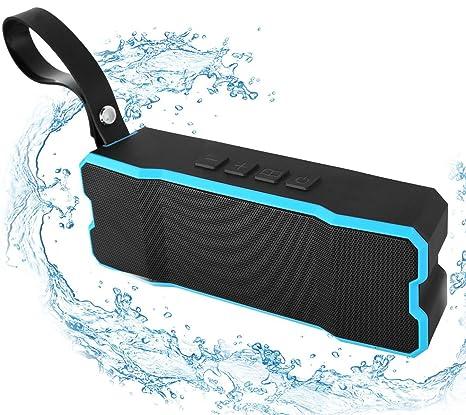 Review Bluetooth Waterproof Speaker,POWERIVER Portable