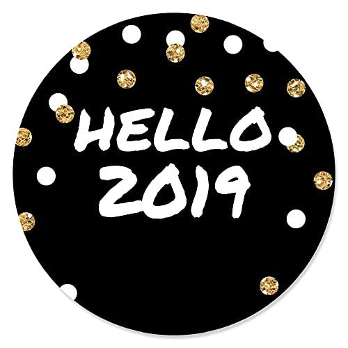 big dot of happiness pop fizz clink 2019 new years eve party