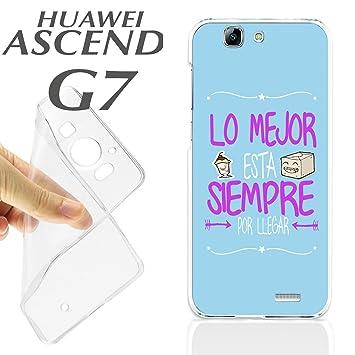 carcasaschulas K245 Funda Carcasa Huawei Ascend G7 ...