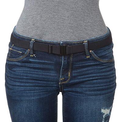 """""""Tights Up"""" Cinturón suave, extensible, cómodo y con hebilla plana. Dorso regulable y antideslizante (no se requieren trabillas). Vestir con medias/leggings/jeans/uniformes: Ropa y accesorios"""