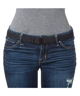 """""""Tights Up"""" morbida, elastica, comoda, cintura piatta con fibbia. Supporto regolabile antiscivolo. Indossalo con collant / pantaloni / jeans / divise"""
