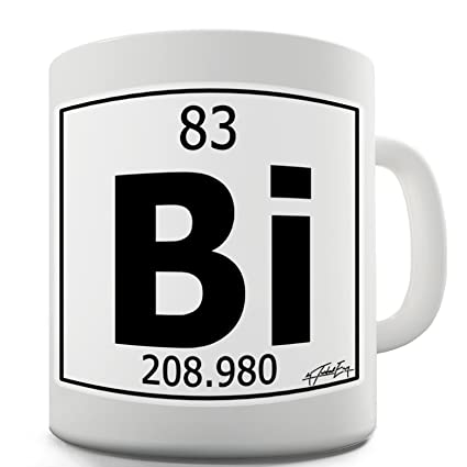 Amazon Com Twisted Envy Periodic Table Of Elements Bi