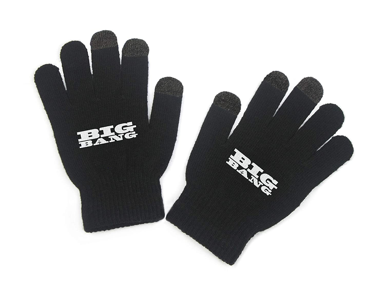 Fanstown KPOP Glove Finger Screen Touchable Design with lomo card