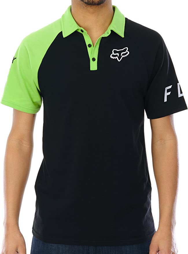 Polo Fox Switched On - Kawasaki Negro-Verde (Xl, Negro): Amazon.es ...